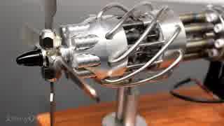 16気筒スターリングエンジン
