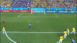 2018FIFAワールドカップ日本代表全得失点