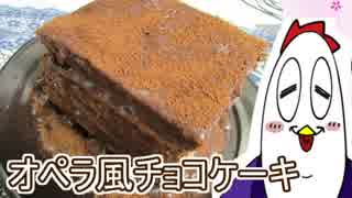 【NWTR料理研究所】オペラ風チョコケーキ【Vtuber】