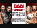 【WWE】セス・ロリンズ&ローマン・レインズvsドルフ・ジグラー&ドリュー・...