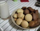 HM(ホットケーキミックス)で簡単クッキー作りましたん♪('▽')ゞ