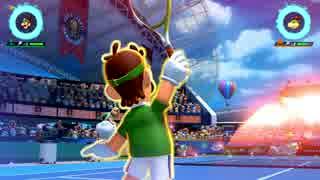 【マリオテニスエース】最強のルイージ使