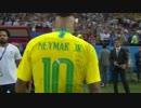 《2018W杯》 [Match Of The Day Live] ブラジル vs ベルギー (2018年7月6日)