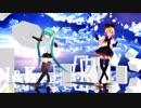 【MMD 鏡音リン:初音ミク】ツギハギスタッカート 【Sour式リン:REI式ミク】 画質:1080p推進