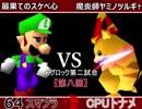 【第八回】64スマブラCPUトナメ実況【Fブロック第二試合】