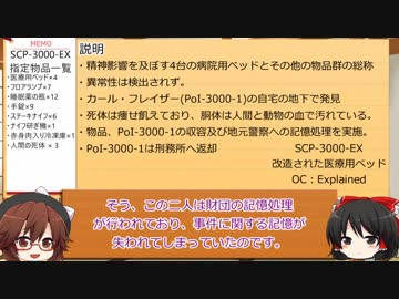 SCP財団幻想郷支部が行く!第13回[記憶処理]