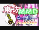 【予告】第3回東方MMD4コマ無茶ぶりリレー参加者紹介動画【第10回ニコ童祭】