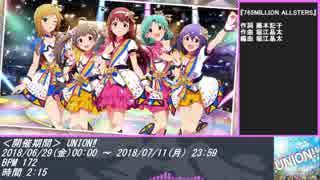 【ミリシタ】イベントBGMまとめ(UNiON!!