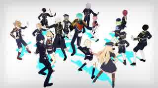 【MMD刀剣乱舞】フラジール【70振】
