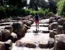 【鈴鹿サーキット:冒険プール】沢登りをして渓流スライダーを滑るあい!お出かけ 水遊び