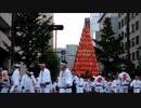 福岡市・天神で北九州市の世界遺産(UNESCO)・戸畑祇園大山笠の巡行!!祭 WITH THE KYUSHU!!
