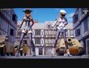 【MMD艦これ】DAYBREAK FRONTLINE (ゴリマ式ビスマルクdrei&pafe式グラーフ・ツェッペリン改)【Ray-MMD】