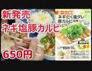 【新発売】松屋のネギだく塩ダレ豚カルビ