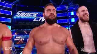 【WWE】今週のWWE王座戦線とUS王座戦線【1