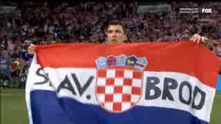2018 ロシアW杯 準決勝 クロアチア×イン