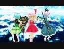 【東方MMD】妖夢とフランとラルバがスキスキ絶頂症を踊ってくれたよ~♪【1080p6M】