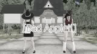 【第10回東方ニコ童祭】 Bad Apple!!  【そばかす式】