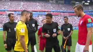 《2018W杯》 [3位決定戦] ベルギー vs イ