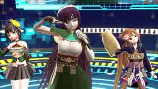 【MMD】Dream Fighter【城プロ】
