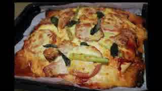 ピザ 作りました