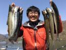【後援会アーカイブ】栃木遠征!川俣湖のサクラマスを狙う!