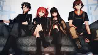 【Fate/MMD】FGO2とFEXlink主人公たちのLa