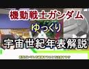 【機動戦士ガンダム】宇宙世紀年表解説 【ゆっくり解説】part15