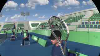 【VRゲーム】テニスが趣味のうp主がドリ
