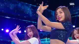 【K-POP】애슐리(LADIES' CODE/ASHLEY) - HERE WE ARE 180729 Inkigayo