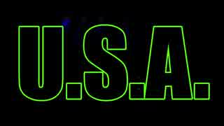 U.S.A.(映像冒頭のみ)×原曲 inst