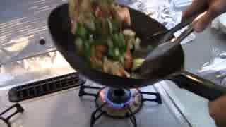 鶏胸肉のピリ辛炒め