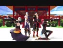 【MMD一血卍傑】ロールプレイングゲーム【神々の戯れ】