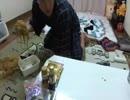 金バエ ペヤング超大盛りギガマックス配信4 ぶちまけた焼きそばを片付ける