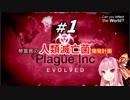 【Plague Inc:Evolved】琴葉茜の人類滅亡
