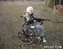 銃の練習(おばあちゃん編)