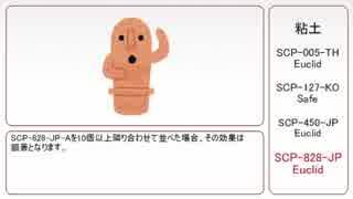 【ゆっくり】粘土【タグでSCP紹介】