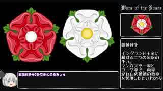 妖夢のインスタント英国史【薔薇戦争】