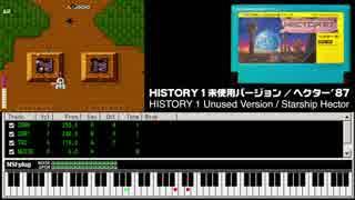 ヘクター'87の未使用曲をファミコン実機音源で打ち込んでみた
