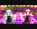 【MMD】あぴミクさんと あぴテトさんが『Lap Tap Love』を踊りました♪1080p