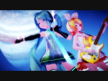 【MMD】Sour式初音ミク・鏡音リン「Tell Your World」