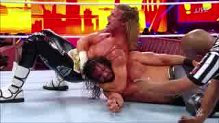 【WWE】ドルフ・ジグラー(ch.)vsセス・ロ