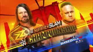 【WWE】AJスタイルズ(ch.)vsサモア・ジョ
