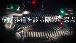 【初音ミク】横断歩道を渡る際の注意点【オリジナル曲】