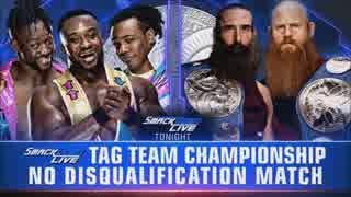 【WWE】ブラジオン・ブラザーズ(ch.)vsザ
