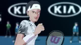 【MMD杯ZERO参加動画】全豪オープンテニス