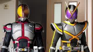 【ジオウ放送記念】友達と一緒に仮面ライダーファイズとカイザに変身した!