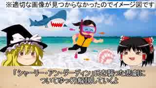 【ゆっくり解説】サメによる水難事故「シャーリー・アン・ダーディン」