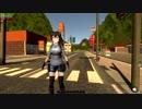 【美少女ゾンビサバイバルゲーム開発#21】文字システム、背景追加