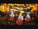 【らぶ式リン・ルカ・ミク】巫女さんたちで「天樂」【MMD】1080p