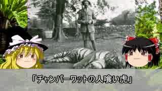 【ゆっくり解説】トラによる獣害事件「チャンパーワットの人喰い虎」
